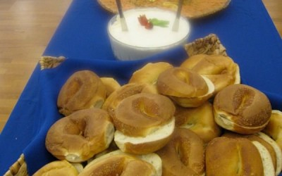 Bagels, Cream Cheese  & Smoked Salmon
