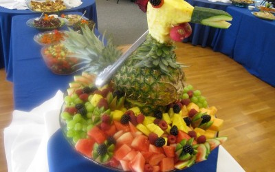 Decorative Fresh Fruit Platter
